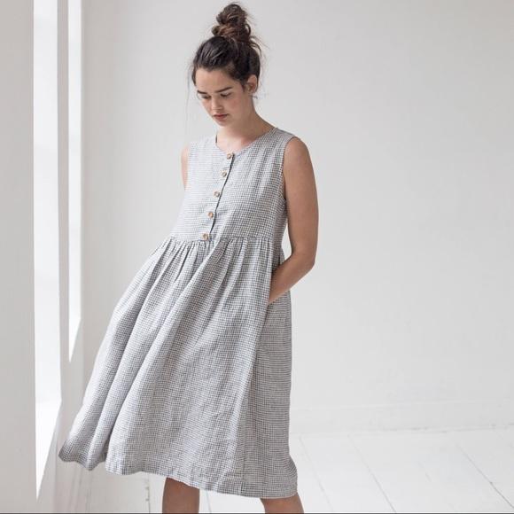 not perfect linen dresses mama dress poshmark. Black Bedroom Furniture Sets. Home Design Ideas